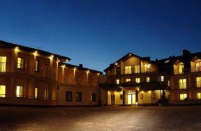 Hotel Rusałka nocą